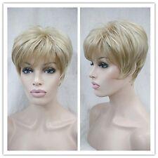 Perruques de haute qualité, blonde, courte, femmes perruques.+ gratuit hairne