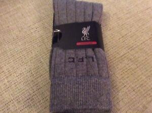 BNWT New LFC Signature Men's Cotton Cashmere Grey Socks - One Size - YNWA