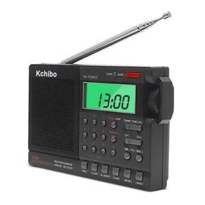 UK Stock - Airband Digital Receiver FM/SW/AirBand/MW Scanner optional USB Power