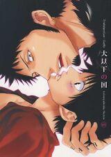 One Piece YAOI Doujinshi ( Law x Luffy ) Inu ika no Kuni, Teionyakedo