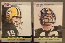 1990 Pro Set Football Super Bowl Mvp Collectible Set (#1 to #24)