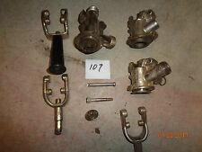 Draft beer, kegerator, parts,  couplers and other coupler parts, used