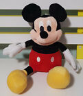 DISNEY HOME MICKEY MOUSE PLUSH TOY! SOFT TOY ABOUT 22CM SEATED CHARACTER TOY!