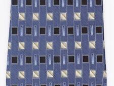 Colours by Alexander Julian Men's Neck Tie Blue Gray Black Dress Suit 100% Silk