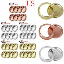 8 Rust Resistant Stainless Steel Screw Bands/Rings for Regular/Wide Mason Jars