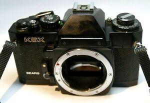 Sears KSX camera 35mm SLR - (Body Only) for K Pentax mount - tested works good