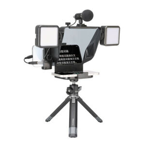 Ulanzi PT-16 Teleprompter Prompter for Smart Phone Live Recording Streaming Vlog
