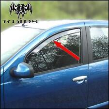 Déflecteurs de vent pluie air teintées Dacia Sandero I et Stepway 2008-2012