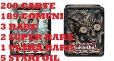 Yu-Gi-Oh Scatola Tin Zexal Tempest o Redox con 200 carte 2 Super-Rara   Yu Gi Oh