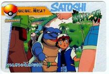 POKEMON BANDAI 1998 POCKET MONSTERS N° 114 BLASTOISE SATOSHI TORTANK SACHA