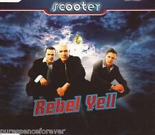 SCOOTER - Rebel Yell (UK 3 Track CD Single)