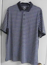 Nwot Mens Cutter & Buck Short Sleeve Polo Mck00694 Size-Large Color-Multicolored