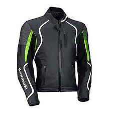 Kawasaki Motorbike Leather Jacket Sports Racing Motorcycle Leather Jacket
