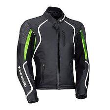 Kawasaki Motorbike Leather Jacket Sports Racing Motorcycle Leather Jacket