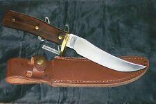 """Schrade 160OT Knife & Sheath """"The Original Mountain Lion"""" NOS 1990's USA Made"""