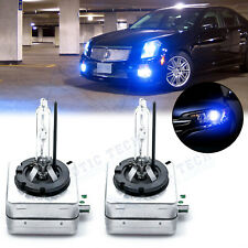 D1S D1R D1C 10000K Deep Blue OEM HID Headlight Replacement Light Bulbs Cadillac