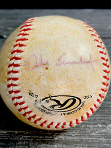 DALE EARNHARDT Signed Rawlings Baseball