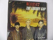 HEAVEN 17 THE LUXURY GAP PROMO CD ALBUM