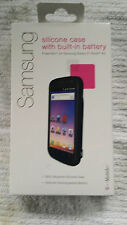 PowerSkin Silicone Case with Built-in Battery for Samsung Galaxy S Blaze 4G