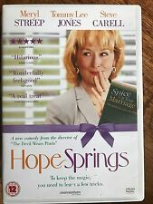 Tommy Lee Jones Steve Carell Meryl Streep HOPE SPRINGS Comedia romántica GB DVD
