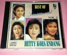 BEST OF SENTIMENTAL – HETTY KOES ENDANG VOL.2 (1992/SINGAPORE) SM CD