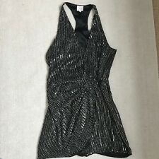 Parker Racer Back Sequin Dress