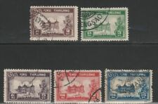 1940-Chakri Palace, complete used set