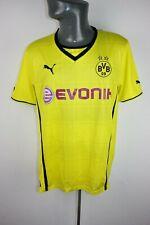 Borussia Dortmund 2013 2014 Domicile Puma Football shirt trikot homme XL F984