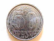 1971-A Germany Fifty (50) Pfennig Coin