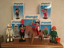 Playmobil Vintage Collection Plastoy - 5 brand new boxed figures. Look 😊