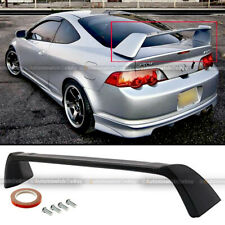 Fit 02-06 Acura Rsx Dc5 Matte Black Unpainted Jdm Tr Type-R Rear Trunk Spoiler (Fits: Acura Rsx)