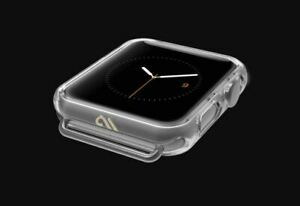 Case Mate Tough BUMPER Cover for Apple Watch Series 1,2, 3, 4, 5 Clear Protector