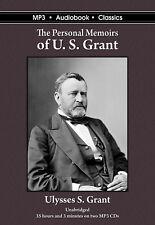 The Personal Memoirs of U.S. Grant - Unabridged MP3 CD Audiobook in DVD case