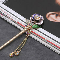Metal Rhinestone Hair Stick Hair Chopsticks Hairpin Hair Accessories For Women