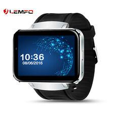 Lemfo LEM4 Bluetooth WiFi Wireless GPS SIM Smart Watch Phone Wrist For Android