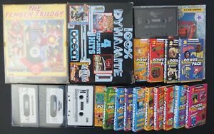 Collection of Commodore 64 games Rick Dangerous 2, High Frontier, Shinobi, etc