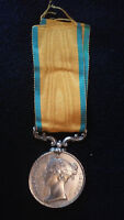 Original British Baltic Medal, Ca. 1854-1855, Royal Navy/Marines