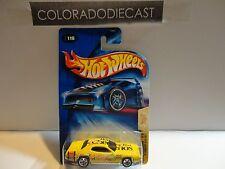 2004 Hot Wheels #116 Yellow 1971 Plymouth GTX w/5 Spokes Wheels