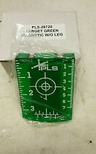 PACIFIC LASER SYSTEMS MAGNETIC CEILING TARGET GREEN BEAM pls-20728