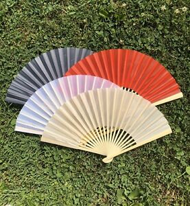 Silk Fan for Wedding Favor, Hand Fan for Wedding Ceremony
