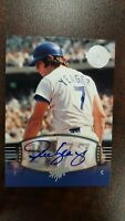 2004 STEVE YEAGER Auto SP #141 UD Timeless Teams  Short Print  !
