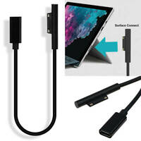 Type C USB-C PD Power Adapter Charging Cable For Microsoft Surface Pro 4/5/6/Go