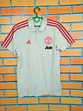 Manchester United Polo Size M Shirt Jersey Football Soccer Adidas DP6828