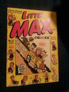 LITTLE MAX #11 harvey comics 1951 golden age joe palooka cartoon strip precode