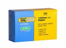 Tacwise 140 Series 6mm Staples for Staple Gun (Pack of 5000) 6 mm
