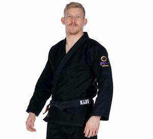 Fuji Sports All Around Mens Brazilian Jiu Jitsu Gi Jiu-Jitsu BJJ Black w Purple