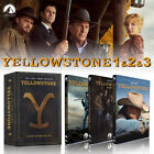 Yellowstone Season 1 & 2 & 3 1-3 (DVD ,12-Disc.new)  FREE SHIPPING US SELLR