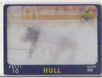1997 UPPER DECK BRETT HULL DIAMOND VISION SIGNATURE MOVES