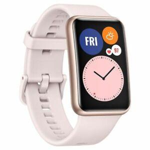 "Huawei WATCH Fit 46mm Smart 1.64"" AMOLED Touchscreen 4GB Bluetooth Sakura Pink"