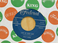 Willie Mabon blues 45 Light Up Your Lamp bw Rosetta Rosetta on Federal